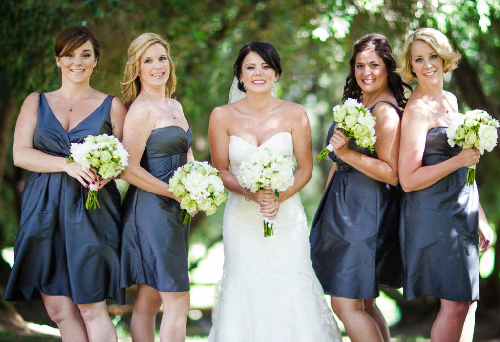 Bridal party at a San Luis Obispo wedding photographers