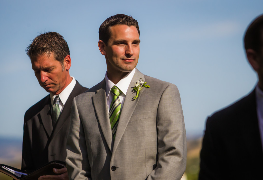 San Luis Obispo wedding groom