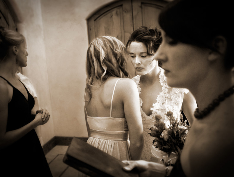 It wasn't supposed to rain… Paso Robles Wedding